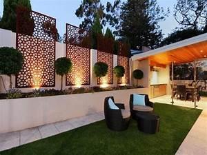 brise vue jardin et deco en acier corten 30 idees splendides With amazing decoration exterieur jardin zen pierre 2 deco jardin zen exterieur un espace de reflexion et de