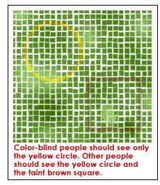 test to see if you re color blind what it s like to be color blind