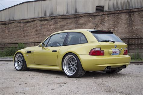 2001 Phoenix Yellow Bmw Z3 M Coupe