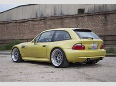 2001 Phoenix Yellow BMW Z3 M Coupe Rare Cars for Sale
