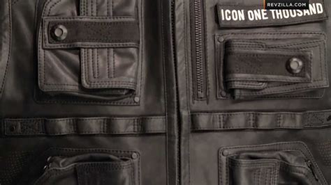 Icon 1000 Associate Warchild Vest Review At Revzilla.com