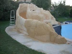 Piscine Avec Cascade : piscine avec cascade d eau 7 projet construction faux ~ Premium-room.com Idées de Décoration
