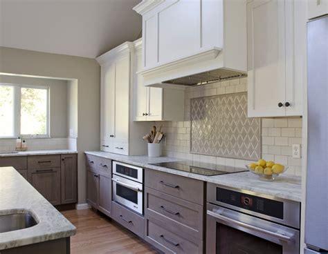 tiling backsplash in kitchen blueberry cove renovation transitional kitchen 6241