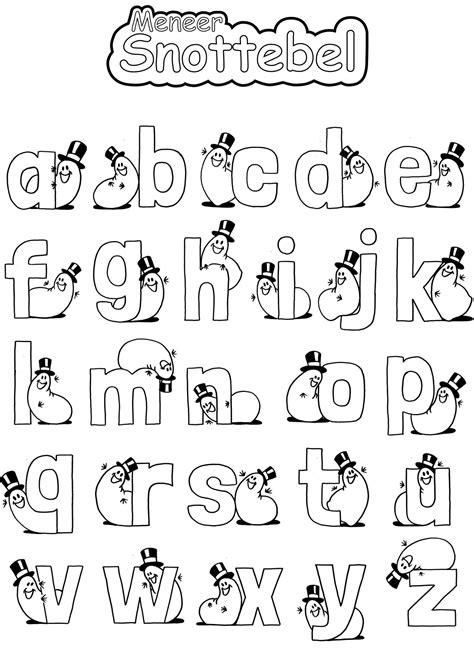 Janiek Kleurplaat Letters by Kleurplaten Alfabet Vlairmatrassen