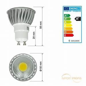 Led Birnen Gu10 : 10 x 6w led cob gu10 spot lampe birne leuchte strahler licht leuchtmittel ebay ~ Markanthonyermac.com Haus und Dekorationen