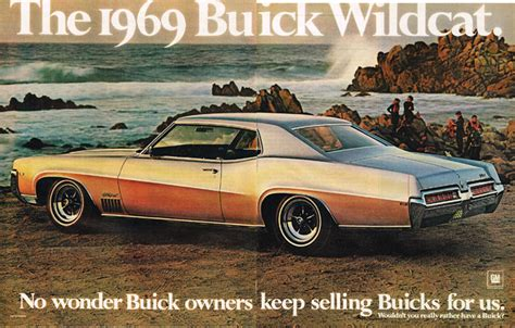 1969 Buick Wildcat Ad Photo Picture