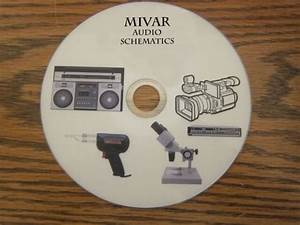 Mivar Audio Repair Service Schematics On 1 Dvd In Pdf
