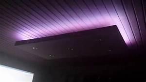 Installer Faux Plafond : installation perso faux plafond led rgb int gr e youtube ~ Melissatoandfro.com Idées de Décoration