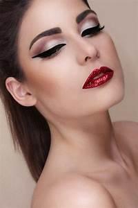 Glitter lips makeup | My style | Pinterest