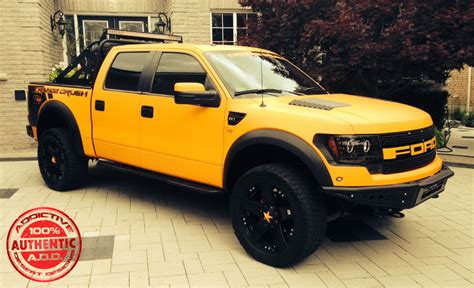 gallery yellow ford raptor