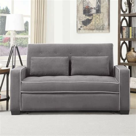 Serta Convertible Sofa Lounger by Serta Augustine Convertible Sofa Bed