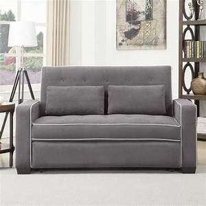 Serta augustine convertible sofa bed for Serta sleeper sofa bed