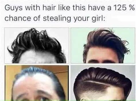 guys  hair      chance  stealing