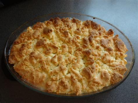 crumble aux pommes chrysb recette cuisine companion