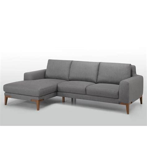 canapé d angle 3 places canapé d 39 angle côté gauche design 3 places avec méridienne