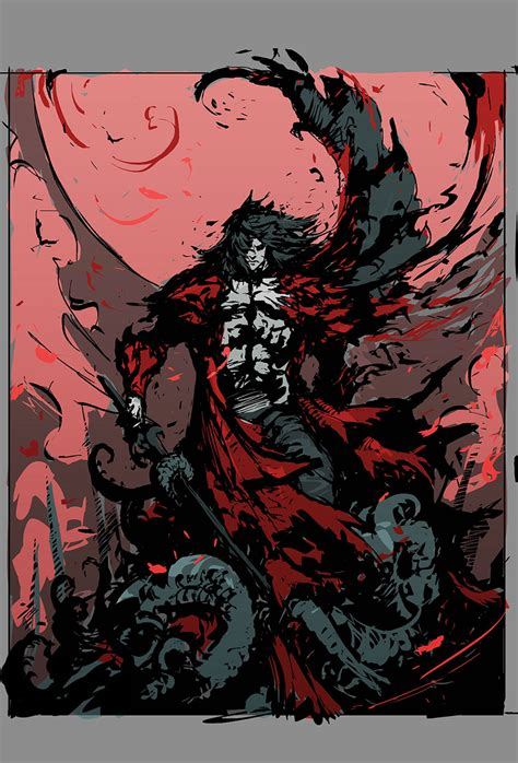 Dracula Poster Concept Castlevania Lords Of Shadow 2