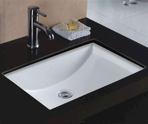 16 undermount bathroom sink wells sinkware 22 quot x 16 quot undermount rectangular bathroom