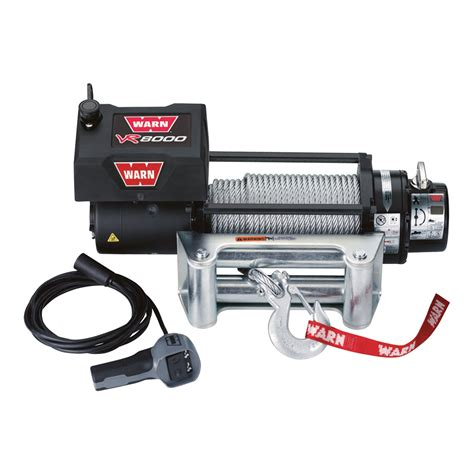 Warn Truck Winch — 8000lb Pulling Capacity, Model