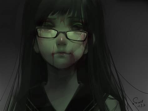 Creepy Anime Wallpaper - original wallpaper and background image 1600x1200 id