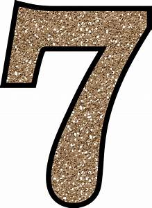 Number 7 Digits Transparent Icon Image 2 Free