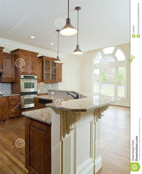 cuisine a la maison compteur de cuisine intérieur à la maison de luxe modèle