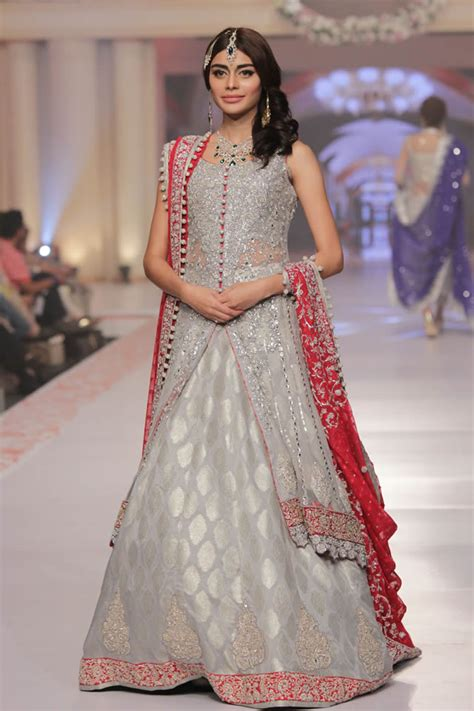 zainab chottani bridal lehengas frocks collection