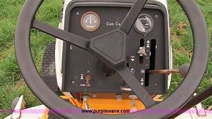 Cub Cadet Hydro 1210 Lawn Mower