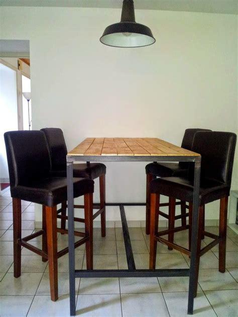 table cuisine industrielle 1000 id 233 es sur le th 232 me table haute bar sur