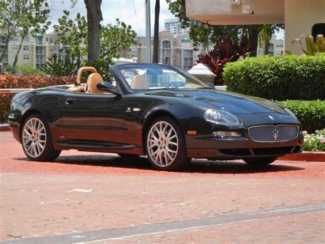 2006 Maserati Spyder by 2006 Maserati Gransport Spyder For Sale In Miami Fl
