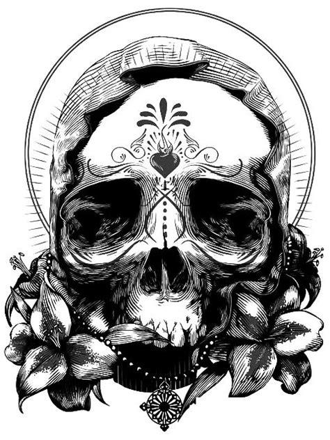 Mejores 263 imágenes de draw .. a skull en Pinterest   Cráneos y calaveras, Ideas de tatuajes y
