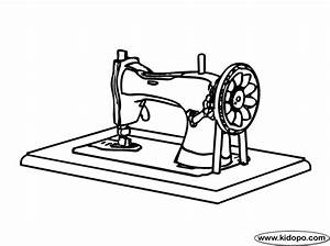 sewing machine coloring page With electronics homepage