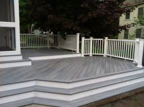 landmark landscapes a lincoln landscaping company a gallery of composite deck ideas