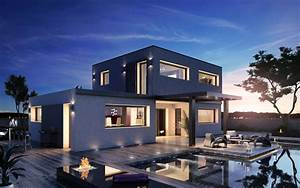 maison nos creations maisons stephane berger 250000 With delightful idee de plan de maison 0 maison neuve avec piscine toit plat