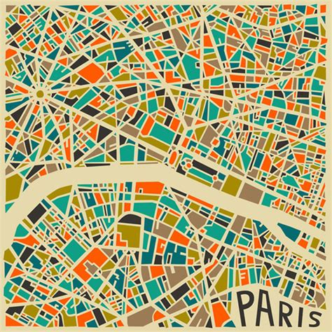 modern abstract city maps colossal