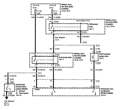 Need Wiring Diagram For Fuel Pump Explorer