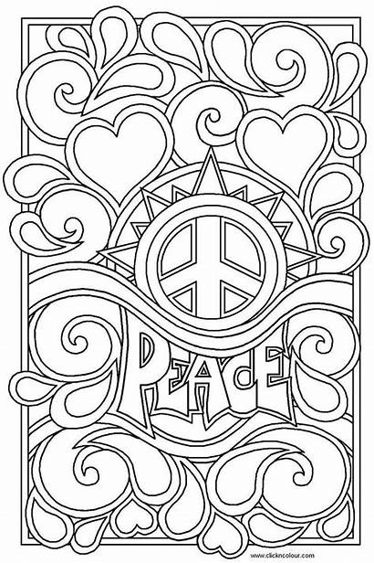 Coloring Pages Teenagers Abstract Difficult Popular