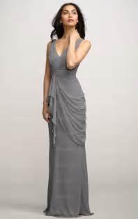 bridesmaid dresses gray chiffon grey bridesmaid dress bnnbe0015 bridesmaid uk