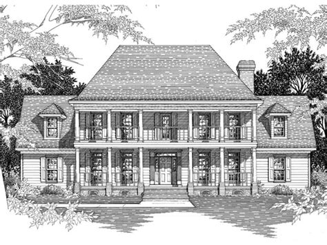 plantation home blueprints southern plantation home plans historic southern
