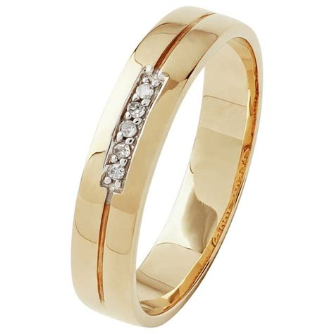 buy 9ct gold i you wedding ring 4mm at argos co uk your shop for