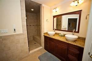 Incredible Master Bath with Heated Floors, 2 Vessel Sinks ...