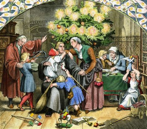 luthers christmas tree martin luther soll das christkind erfunden haben luther2017