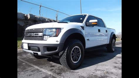 sold  ford svt raptor supercrew oxford white