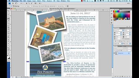 Create Html Email Part 3slicing For The Web In Photoshop