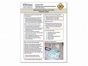 Safety Toolbox Talk Topics