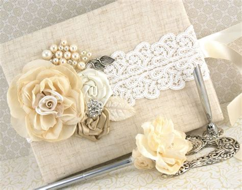 shabby chic wedding guest book ideas 17 best images about wedding guest books on pinterest shabby chic guest books and pen sets