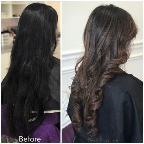before and after hair styles before and after hair styles palm gardens hair