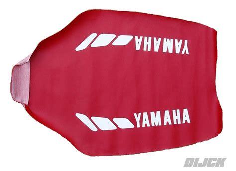 accessoires seatcover yz   red van dijck