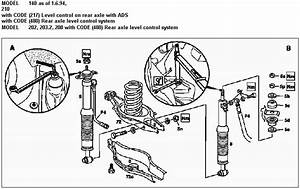 Mercedes W124 Rear Suspension Diagram