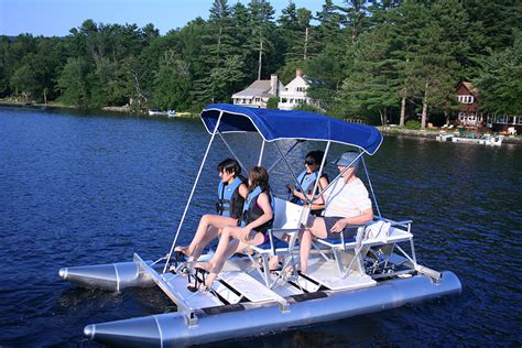 Aqua Cycle Paddle Boat For Sale by Aqua Cycle 4x4 Aqua Cycle Pontoon Paddle Boats