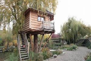 Constructeur Cabane Dans Les Arbres : cabane bureaux nidperch constructeur de cabane ~ Dallasstarsshop.com Idées de Décoration